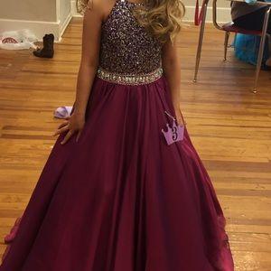 Tiffany pageant dress